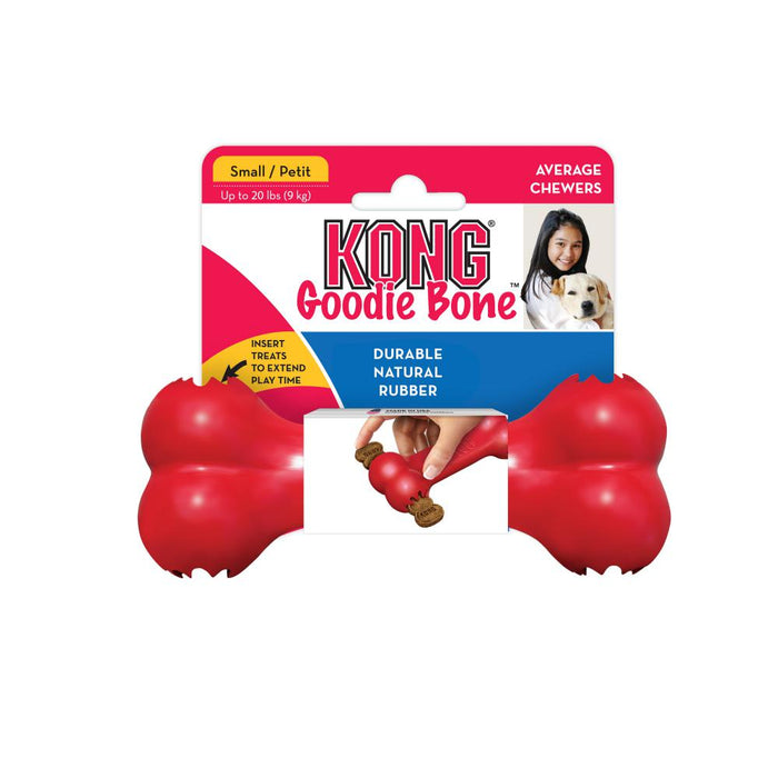 Kong Goodie Bone Dog Toy Red
