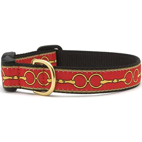 Up Country Dog Collar Love you to Bits