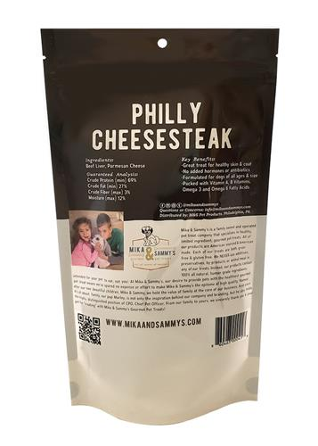 Mika & Sammy's Dog Jerky Treats Philly CheeseSteak, 5oz