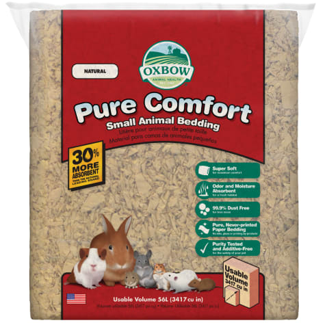 Oxbow Small Animal Pure Comfort Bedding, Natural, 54L