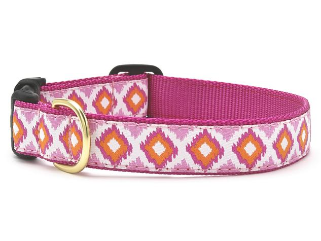 Up Country Dog Collar Pink Crush