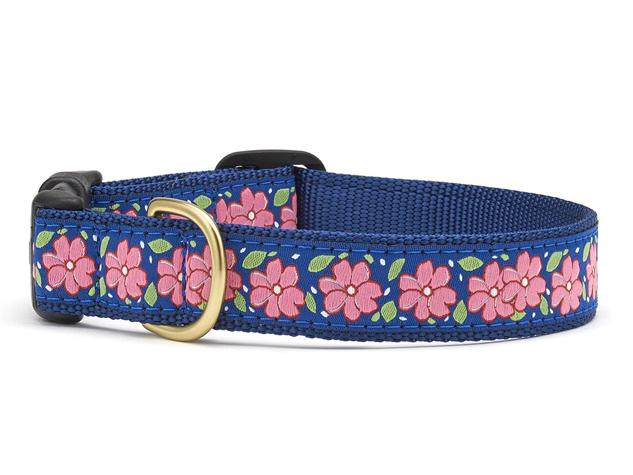 Up Country Dog Collar Pink Garden