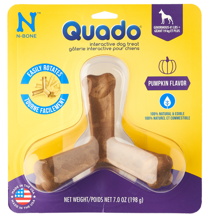 N-Bone Quado Dog Dental Treats Pumpkin