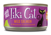 Tiki Cat Grain Free Luau Cat Can Food Hanalei (Wild Salmon), 2.8oz case 12