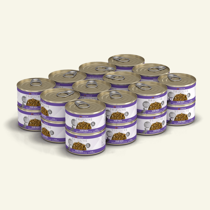 Weruva Truluxe Grain Free Cat Can Food Steak Frites