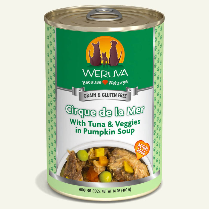 Weruva Grain Free Dog Can Food Cirque De LaMar