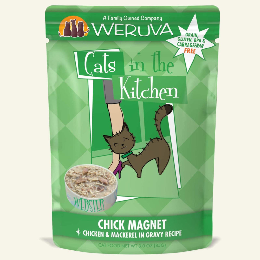 Weruva Cats in the Kitchen Wet Food Chick Magnet 3oz
