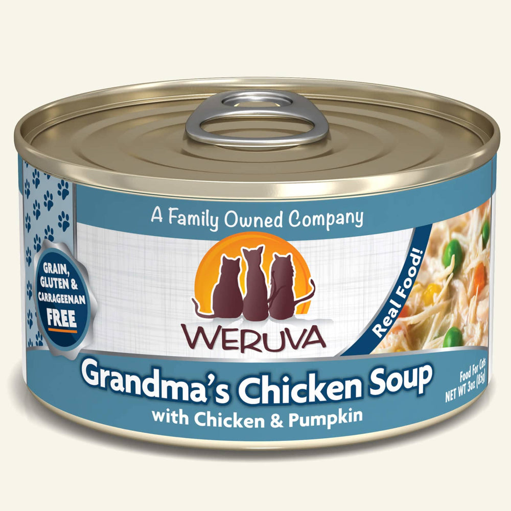 Weruva Classic Grain Free Cat Can Food Grandma's Chicken Soup