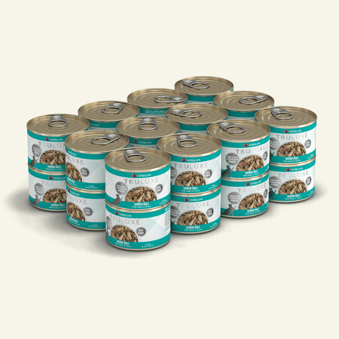 Weruva Truluxe Grain Free Cat Can Food Honor Roll