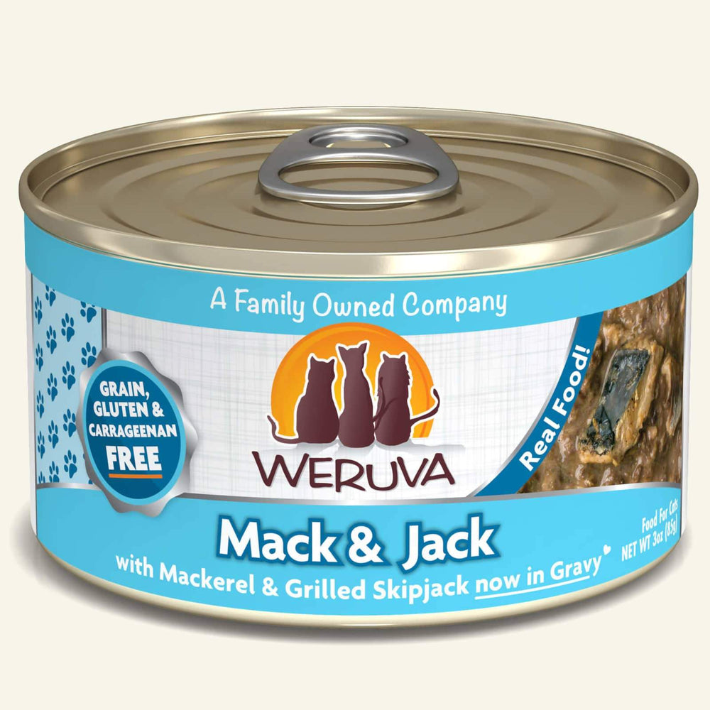 Weruva Classic Grain Free Cat Can Food Mack & Jack