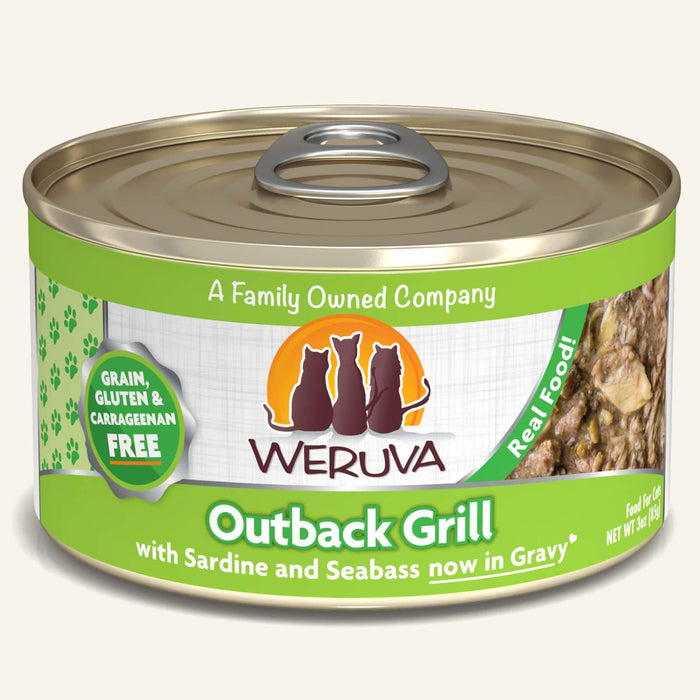 Weruva Classic Grain Free Cat Can Food Outback Grill