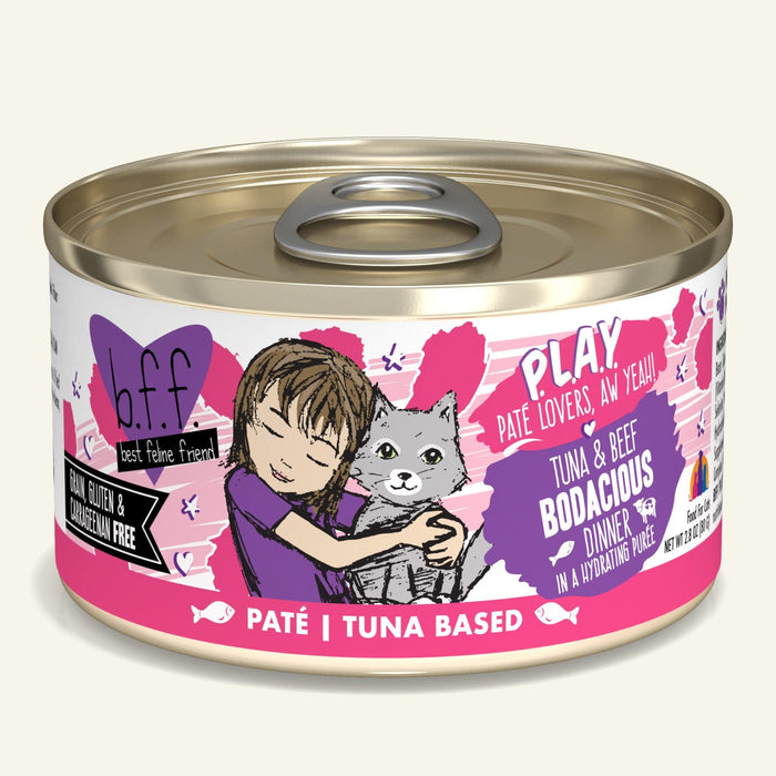 Weruva BFF Play Cat Can Food Bodacious Beef & Tuna