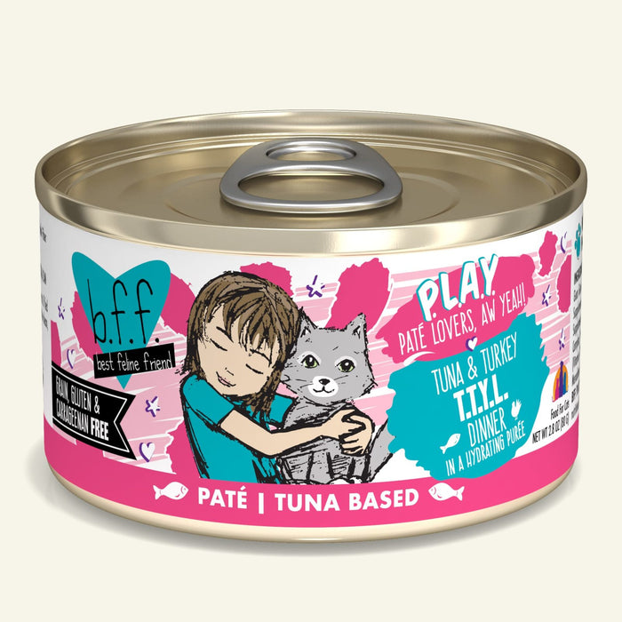 Weruva BFF Play Cat Can Food T.T.Y.L Tuna & Turkey
