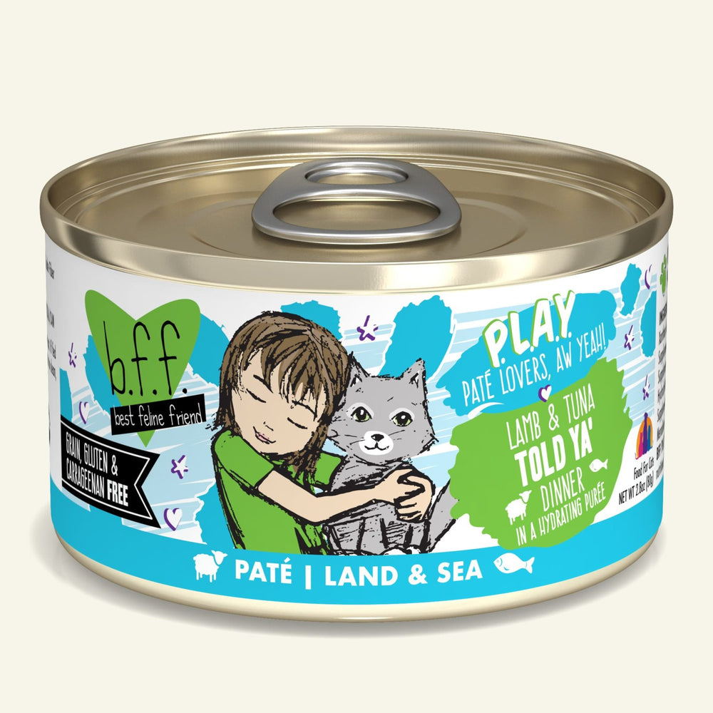 Weruva BFF Play Cat Can Food Told Ya' Lamb & Tuna