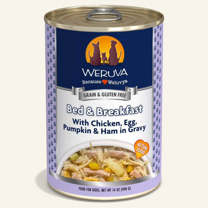 Weruva Grain Free Dog Can Food Bed & Breakfast