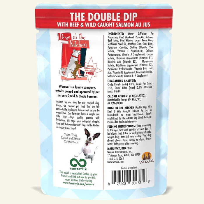 Weruva Dogs in the Kitchen Dog Grain Free Wet Food Double Dip 2.8oz
