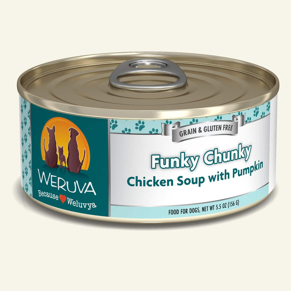 Weruva Grain Free Dog Can Food Funky Chunky