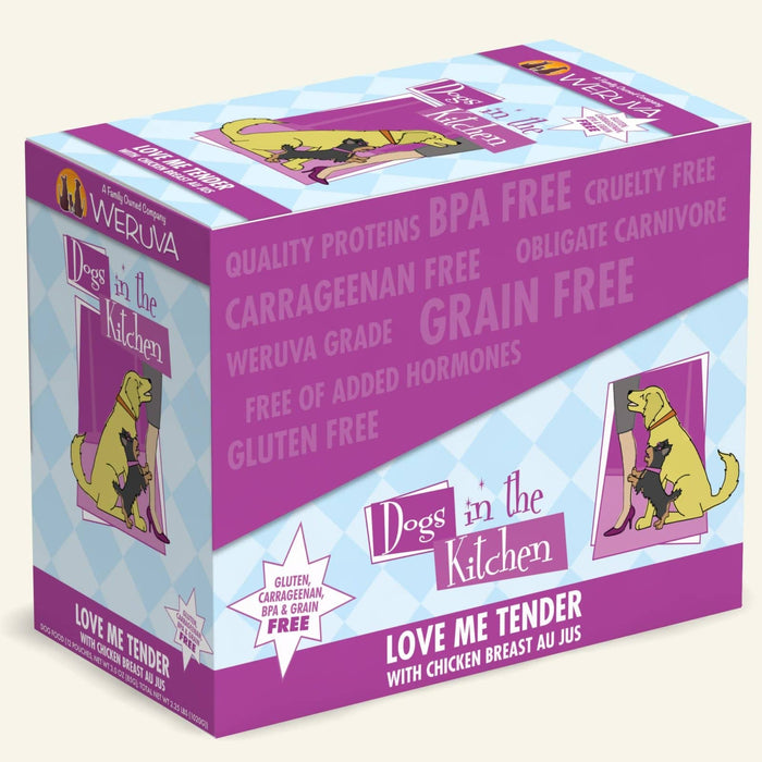 Weruva Dogs in the Kitchen Dog Grain Free Wet Food Love me Tender 2.8oz