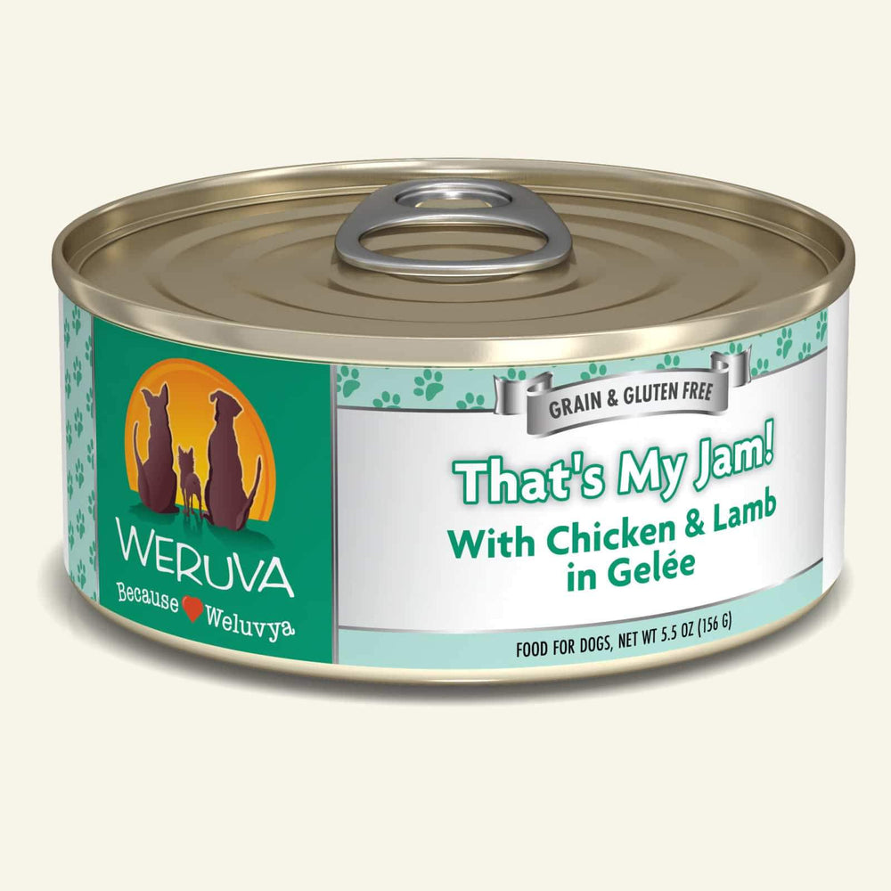 Weruva Grain Free Dog Can Food That's My Jam