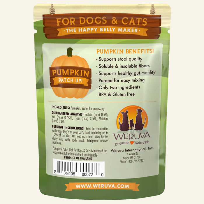 Weruva Pumpkin Wet Food 1oz