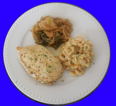 Baked Chicken Meal (White Meat)