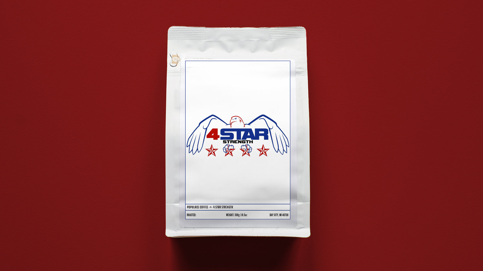 4 Star Strength Support Coffee
