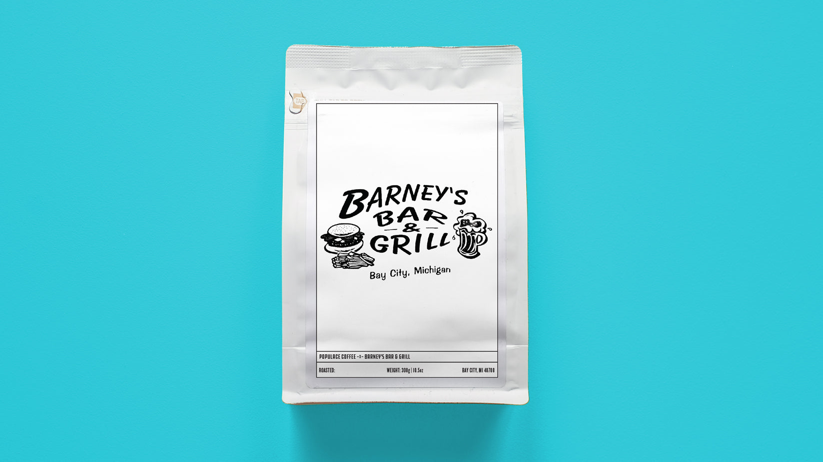 Barney's Bar and Grill Support Coffee