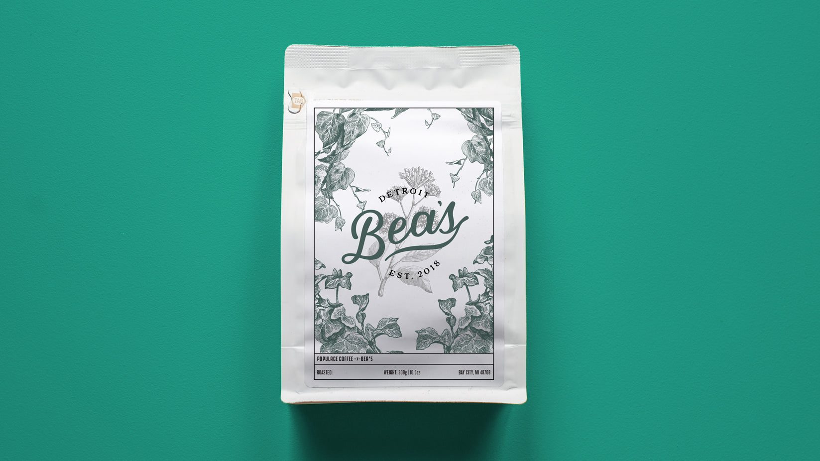 Bea's Cafe Support Bag