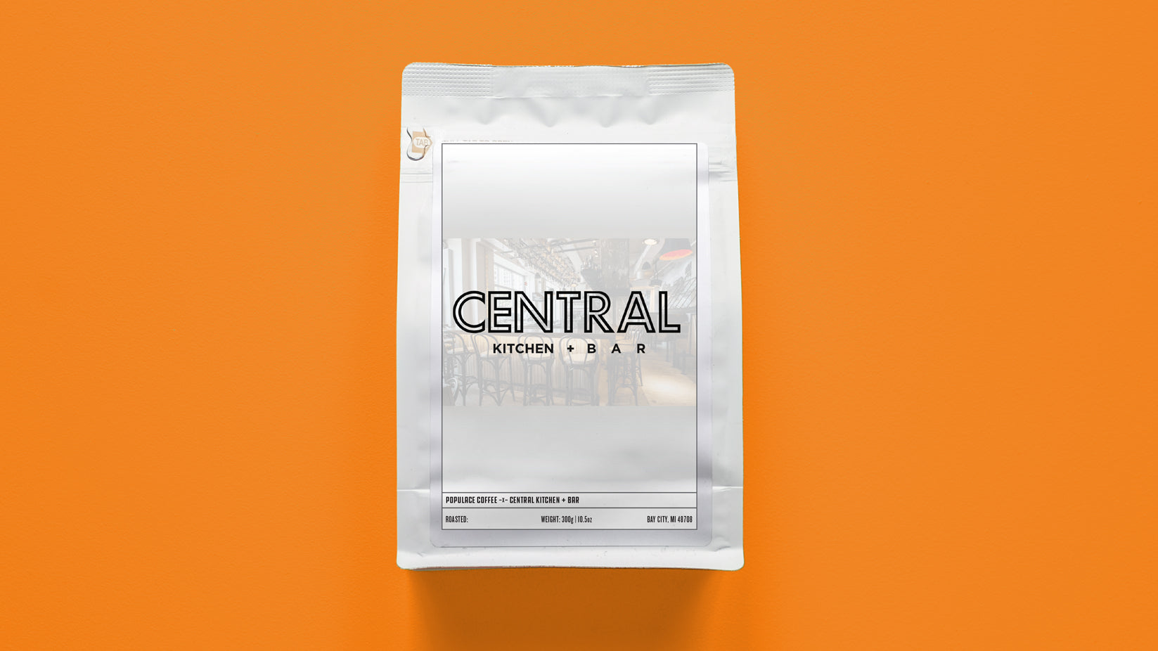 Central Kitchen + Bar Support Coffee