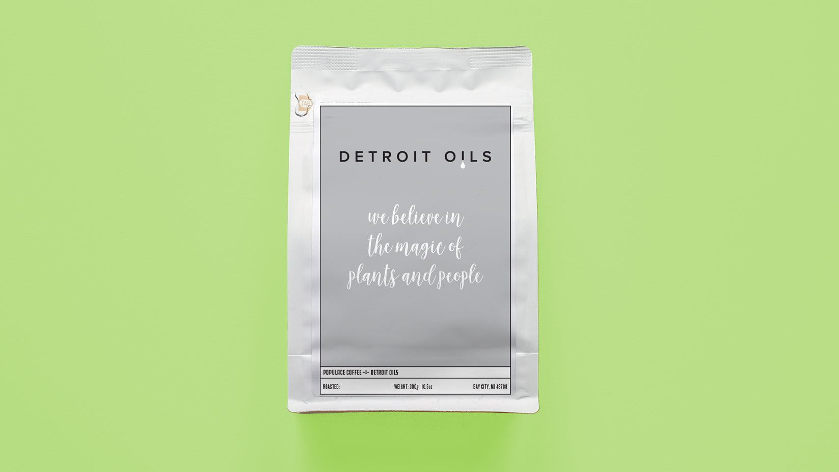 Detroit Oils Support Coffee