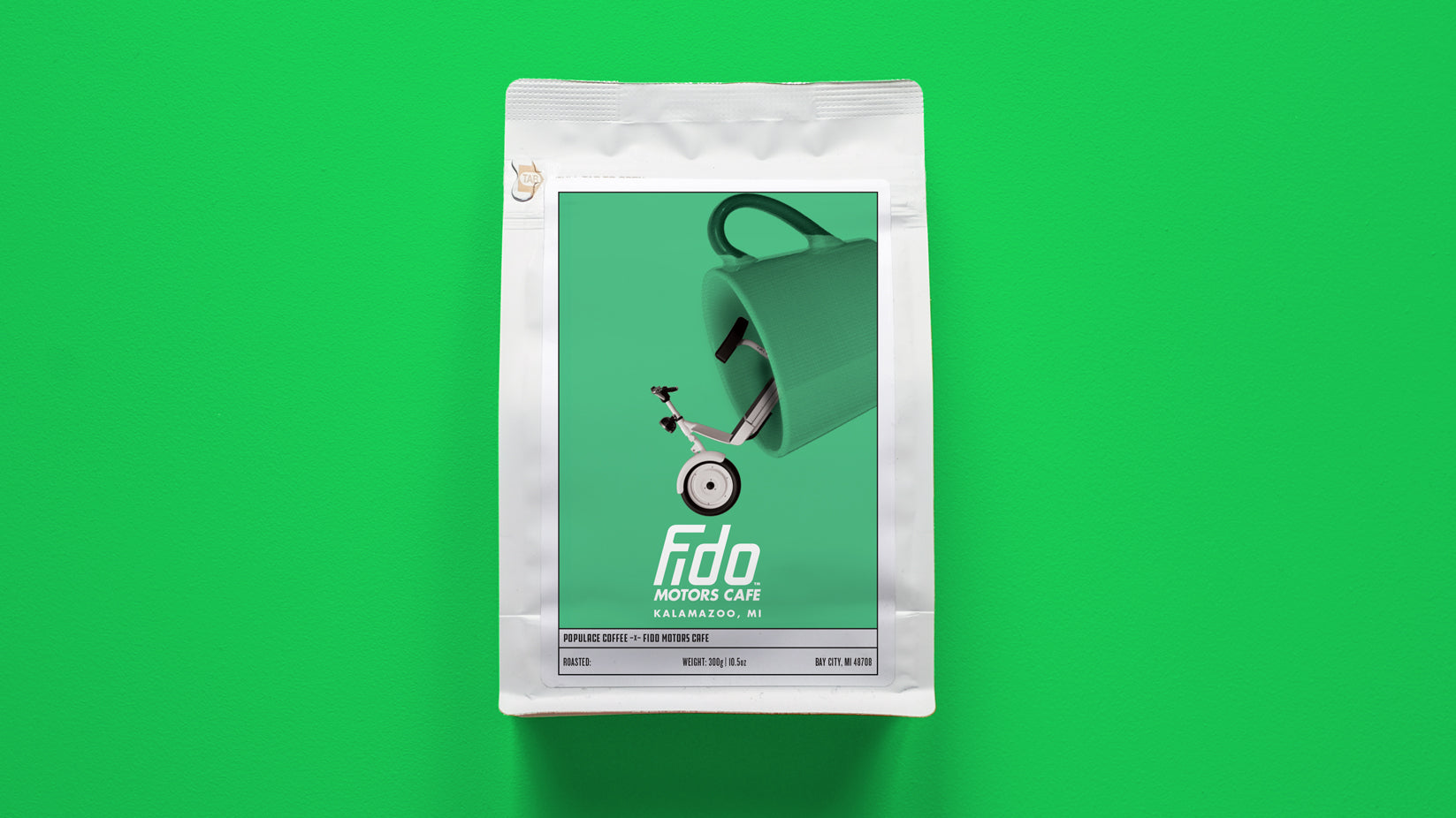 Fido Motors Cafe Support Bag