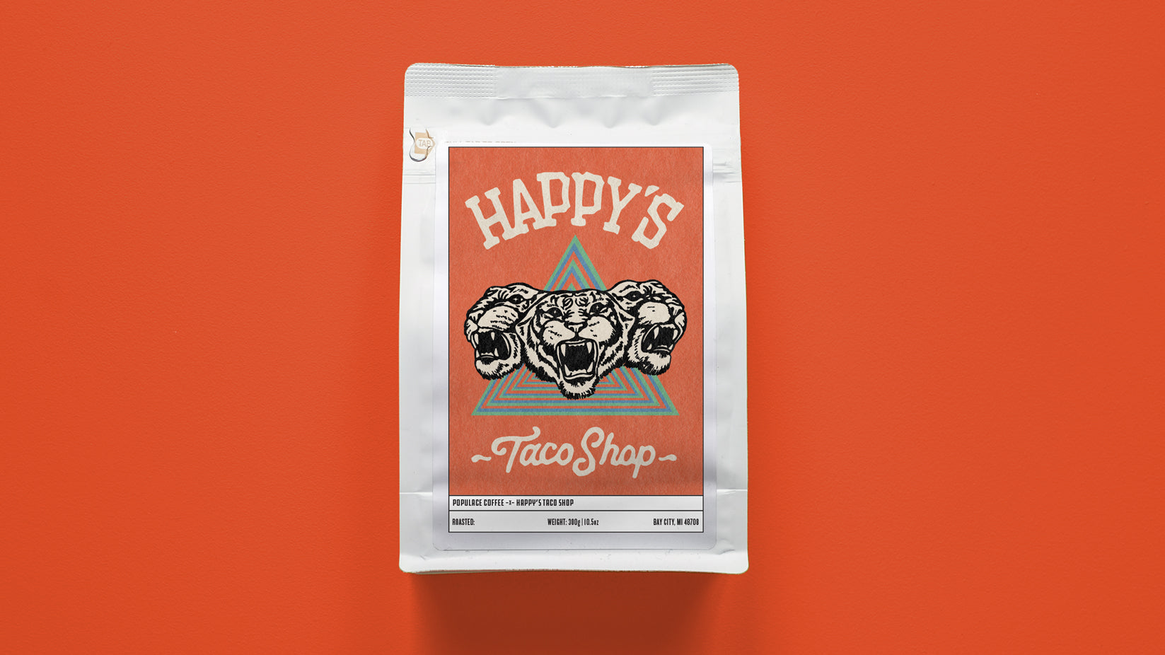 Happy's Taco Shop Support Coffee