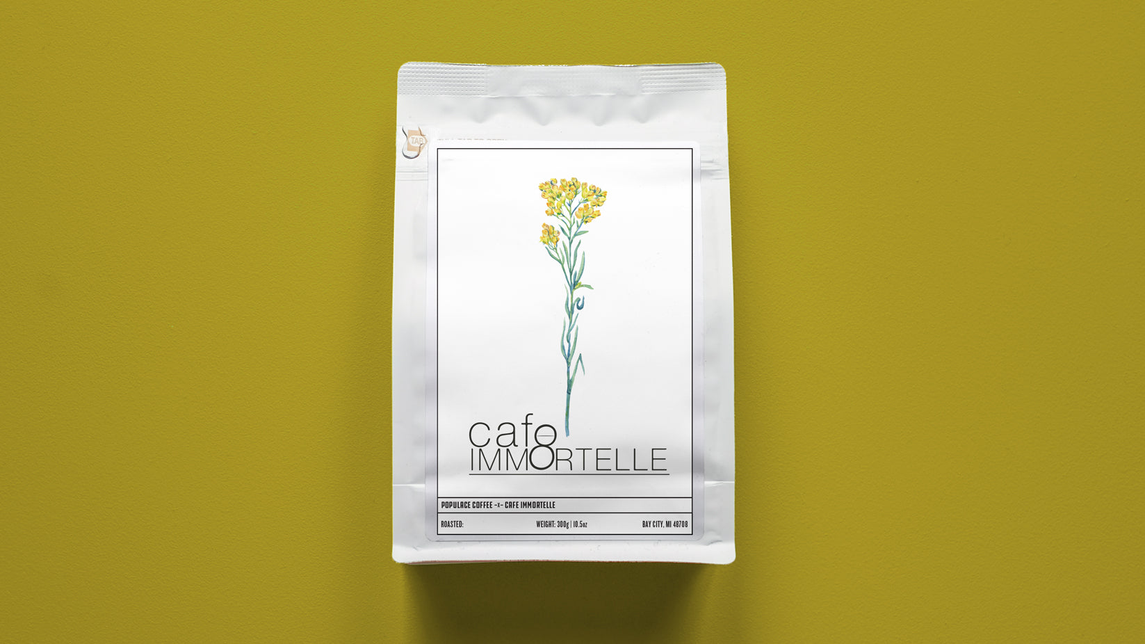 Cafe Immortelle Support Bag