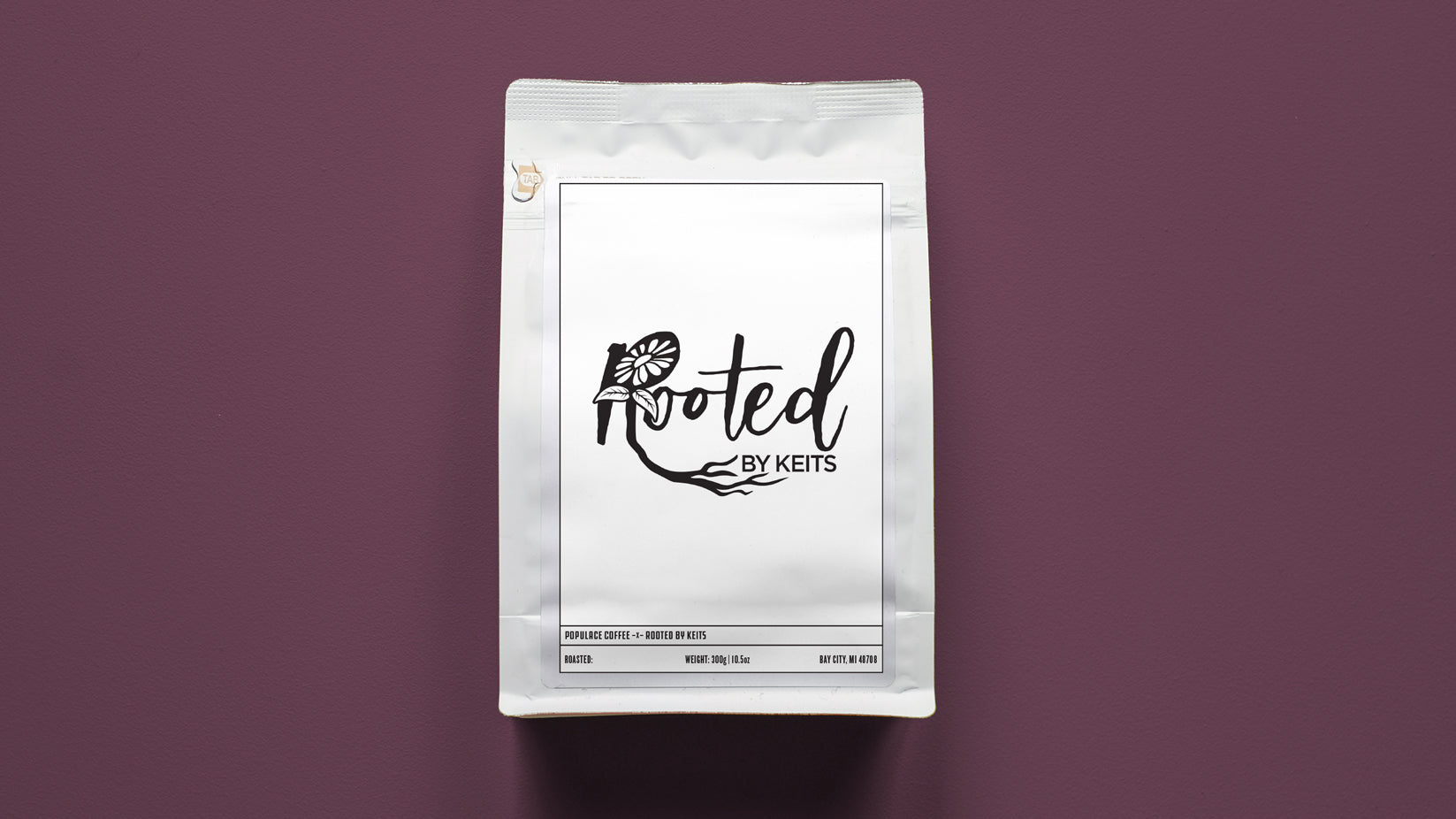 Rooted By Keits Support Coffee