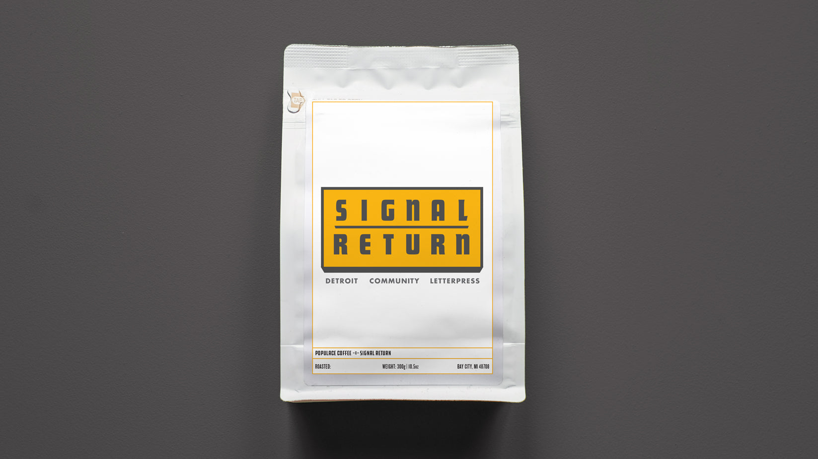 Signal Return Support Coffee
