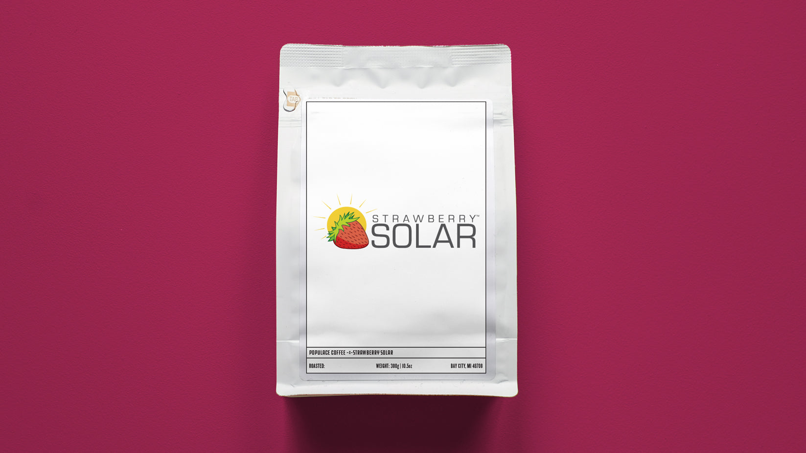 Strawberry Solar Support Coffee