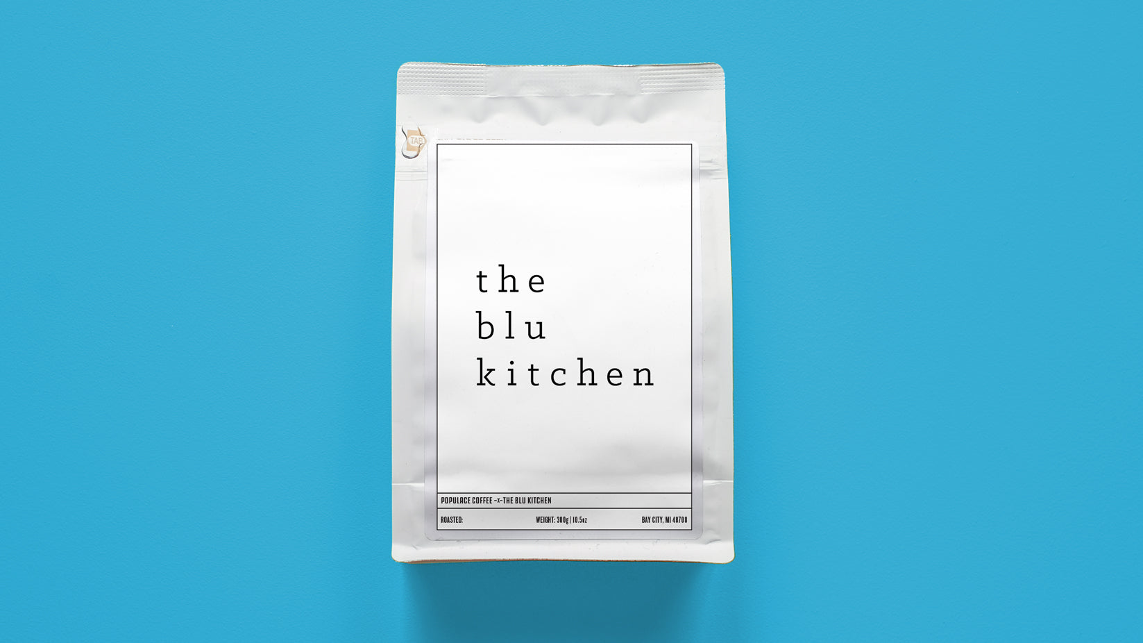 The Blu Kitchen Support Coffee