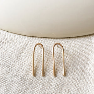 Mini Tuning Fork Earrings