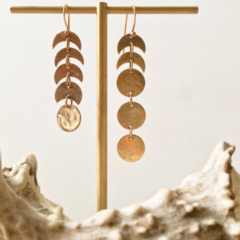 Moon Cycle Earrings