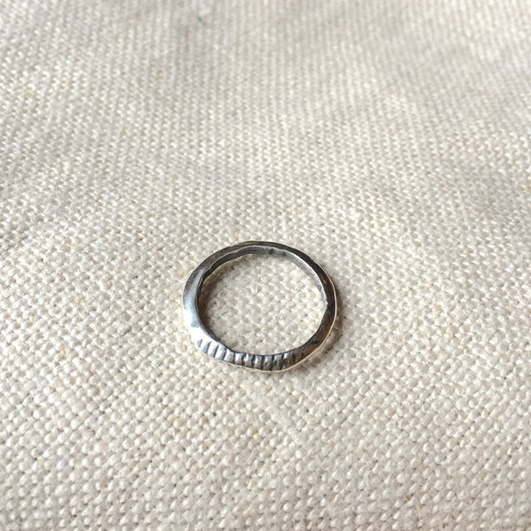Grooves Ring