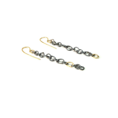 Handmade Chain Earrings
