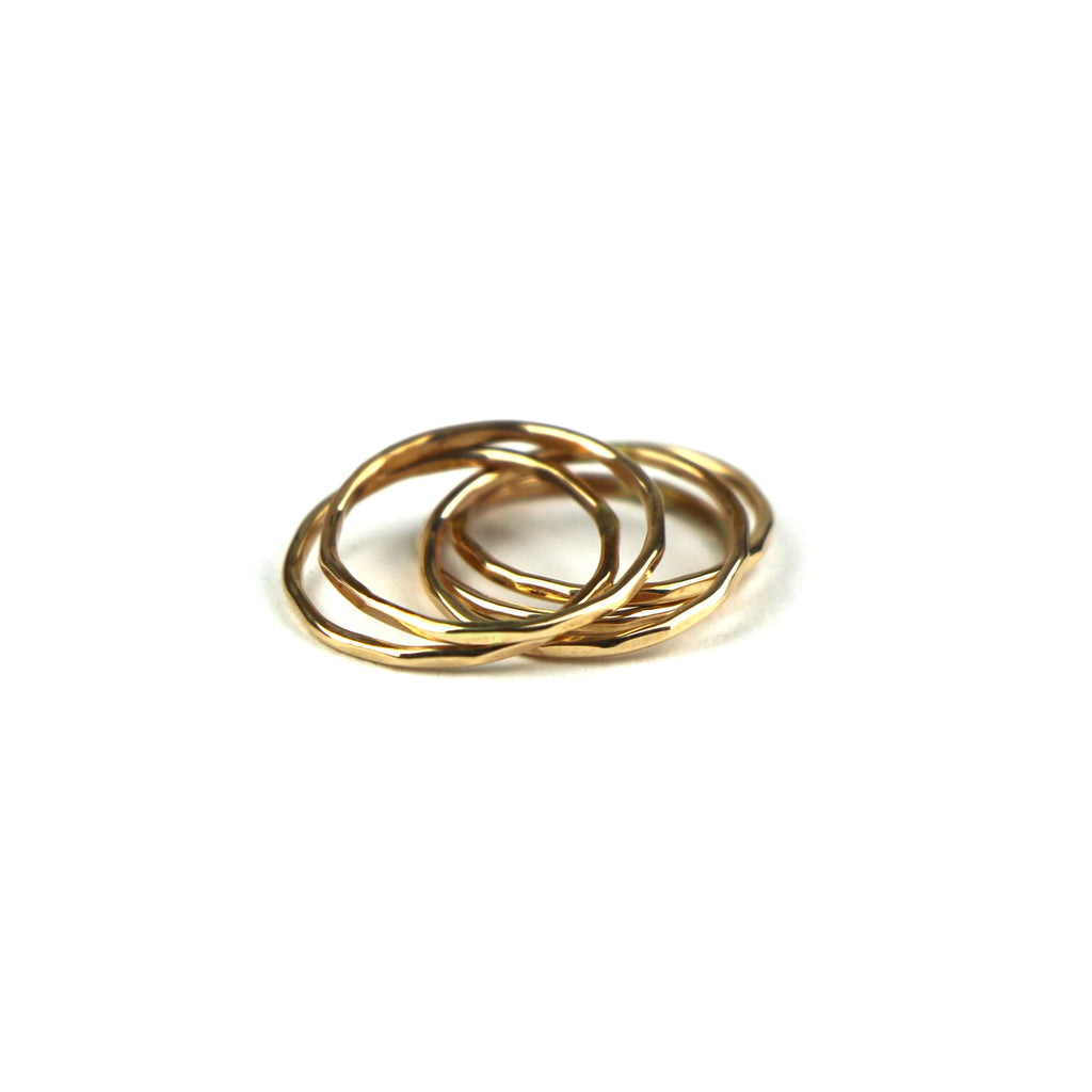 Stacking Ring 18k Gold
