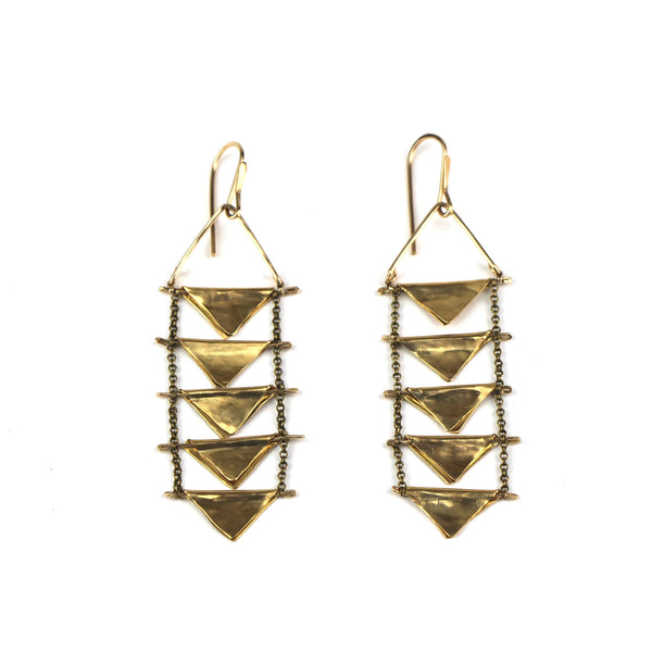 Triangle Drift Earrings