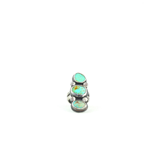 Triple Turquoise Ring