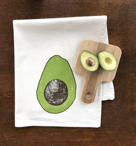 Avocado Flour Sack Towel