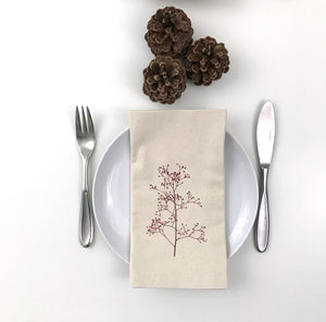 Berry Branch Cotton napkin set of 2