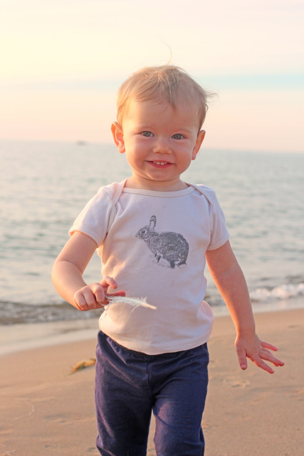 Bunny Toddler and Kids Tshirt