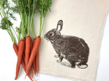 Load image into Gallery viewer, Bunny Flour Sack Towel