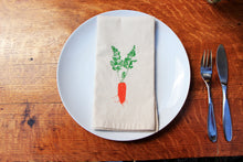 Load image into Gallery viewer, Carrot Napkin Set of 2