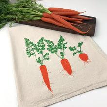 Load image into Gallery viewer, Carrot Flour Sack Towel